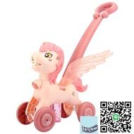 兒童泡泡機小飛馬手持推車電動泡泡機槍全自動嬰兒玩具【happybee】