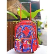 โปรโมชั่น กระเป๋าล้อลากเด็กสไปเดอร์แมน กระเป๋าล้อลากสไปเดอร์แมน ขนาด14นิ้ว ลดกระหน่ำ กระเป๋า เดินทาง ของ เด็ก กระเป๋า เดินทาง เด็ก นั่ง ได้ กระเป๋า เดินทาง สำหรับ เด็ก