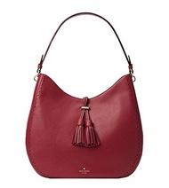 (kate spade) Kate Spade james street nori hobo bag (Merlot)-