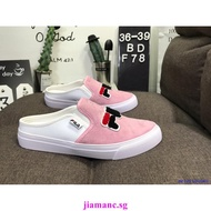 Fila Fila 2020 Pink Pedal Shoes Cool Slippers Casual Breathable Casual Shoes