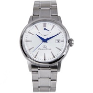 Orient Star Automatic White Dial Stainless Steel Bracelet Gents Casual Watch SAF02003W0 AF02003W