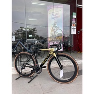 Alcott Ascari ACE Full Shimano Dura Ace Roadbike Bicycle (Carbon wheel) (with FREE Gifts)