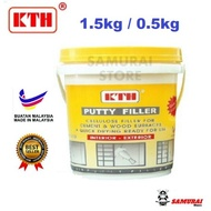 (1.5kg / 0.5kg) KTH Waterproof Wall Filler / Putty Filler