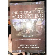 The Intermediate Accounting Volume 3 by Robles 2017 edition