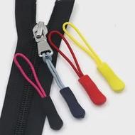 10/20 pcs Zipper ดึง Puller End Fit กระเป๋าเดินทางเต็นท์กระเป๋าเป้สะพายหลังเชือก: Fixer สายซิป Tab คลิปหักหัวเข็มขัด