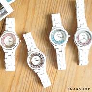 珂紫KEZZI 滑鑽陶瓷手錶 抗過敏 韓版氣質 手錶 石英錶 惡南宅急店【0493F】