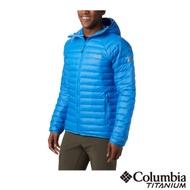 Columbia 哥倫比亞 男款- 鈦 Omni HEAT3D鋁點保暖羽絨外套