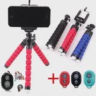 ขาตั้งกล้องแบบพกพา Mini Mini ฟองน้ำ Octopusremote Stick ขาตั้งกล้องสำหรับสมาร์ทโฟน Tripode สำหรับโทรศัพท์มือถือ ...