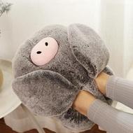 暖腳寶暖腳寶充電加熱暖腳墊電暖鞋女插電熱水袋保暖鞋床上睡覺用暖腳器