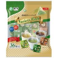 🎯日本森半 綠茶 玄米茶 煎茶 綜合日本茶三角茶包36入