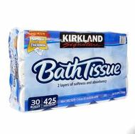 【現貨】Kirkland Signature 科克蘭 捲筒衛生紙 425張 X 30捲