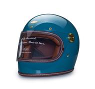 任我行騎士部品 Feture 飛喬 THOMAS 湯瑪斯 樂高帽 復古 街車 GOGORO 全罩 安全帽 亮光青岩藍