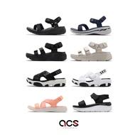 Skechers 涼鞋 女鞋 夏日涼拖 涼拖鞋 厚底 魔鬼氈 / 彈力帶 運動涼鞋 多款任選 現貨在庫 【ACS】