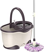 Rotating mop Spinning Mop Bucket,Mop and Bucket SetRotating mop Home Double Drive Dry mop Set