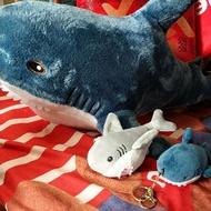 網紅鯊魚好摸絨毛娃娃吊飾