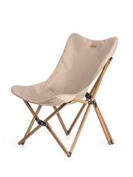 NaturehikeแบบพกพาUltralight Campingเก้าอี้กลางแจ้งเก้าอี้ปิคนิคพับพับไม้Napตกปลาเก้าอี้