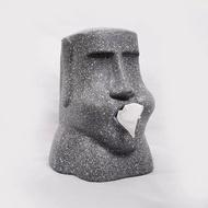 復活島摩艾石像面紙盒