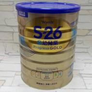 惠氏 S26 金幼兒樂 1600g 有效2021/02/28 升級配方 無添加蔗糖 S-26 1.6Kg 幼兒成長奶粉