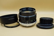 Minolta MC Rokkor-PF 58mm F1.4 良品 不議價