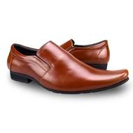 PamaJack รองเท้าคัทชู รองเท้าคัชชูผู้ชาย รองเท้าผู้ชาย รองเท้าหนัง รองเท้าทำงานผู้ชาย รองเท้า รุ่น 955 - สีแทน