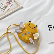 【CADIAO】รูปการ์ตูนน่ารักรูปผึ้งเต่าทองเจ้าหญิงเด็กทารกเด็กผู้ชายเด็กกระเป๋าสะพาย Crossbody กระเป๋ามินิกระเป๋าถือช้อปปิ้งกระเป๋าเดินทางสแน็คกระเป๋าใส่เหรียญสำหรับเด็ก