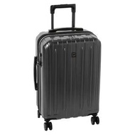 "Delsey Luggage Helium Titanium Carry On Cabin Size EXPANDABLE 21"" 21 Inch  EXPANDABLE Suitcase Luggage 8 4 wheel wheeled Suitcase Spinner Trolley, Graphite or Silver Grey Cherry Red"