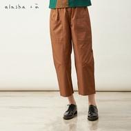 a la sha+a質感造型剪接工作褲