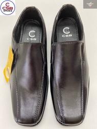 รองเท้าหนังคัชชู ผู้ชายสีดำ CSB รุ่นCM802 งานดี ทรงสวยใส่ทน size 36-40