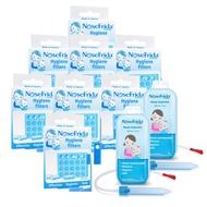 瑞典 NoseFrida - 口吸式 寶寶吸鼻器-超值特惠替換組-吸鼻器x2+替換濾心20入/盒x8