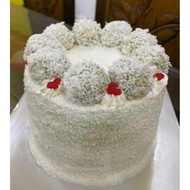 Semi Naked Ondeh Ondeh Cake Halal