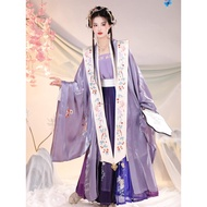 2021 oriental chinese style women traditional hanfu dress oriental clothing retro cosplay song suit