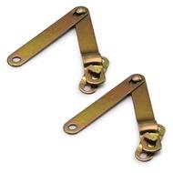 เหล็กโซ่ กะบะท้าย สลิง โซ่ บานพับ เหล็กยึด ฝาท้ายกระบะ ซ้ายและขวา จำนวน 2ชิ้น สีทอง TOYOTA LN 85 Mighty X โตโยต้า ไมตี้x ไมตี้เอ็กซ์ ไมตี้เอ็ก Mighty-X 2 ประตู 4ประตู สินค้าราคาถูก คุณภาพดี Metal Tailgate Side