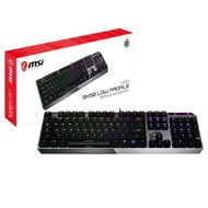 MSI微星 Vigor GK50 Low Profile 短軸機械式鍵盤
