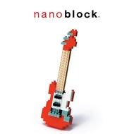 【Nanoblock 迷你積木】NBC-037 紅色電吉他