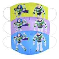 Buzz Lightyear 3D Face Mask Cartoon Adult Kids Baby Boys Girls Cotton Protective Masks Anti Dust Face Mask
