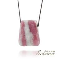【Selene】紅碧璽原礦項鍊(又名電氣石)