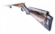 ปืนยิงปลาแบบยิงบนบก อุปกรณ์พร้อมยิง