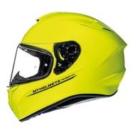 西班牙MT安全帽TARGO系列 螢光黃 全罩式安全帽SOLID A3 總代理 摩斯達有限公司