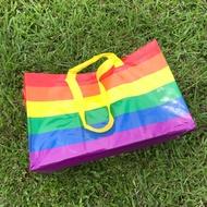 #ikea代購 環保袋 購物袋 收納袋 FRAKTA 聖誕禮物 禮物袋 ikea彩虹提袋 彩虹購物袋