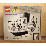 LEGO 21317 Steamboat Willie 米奇船