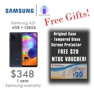 Samsung A31 6GB + 128GB with FREE $20 NTUC VOUCHER (1 Year Samsung Warranty!)