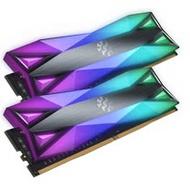 威剛 ADATA XPG Spectrix D60G RGB DDR4-3200 8GB x2 = 16GB 桌上型 記憶體 16G