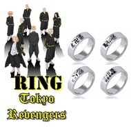 YULE Kurokawa Stainless steel Jewelry Accessories Izana Anime Necklace Carving Ring Anime Ring Anime Cosplay Props