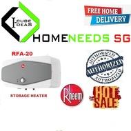 Rheem RFA-20 Classic plus storage heater   Free Delivery   20 L   Authorized Dealer