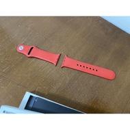 Apple Watch 原廠 矽膠 紅色 錶帶 38/40mm