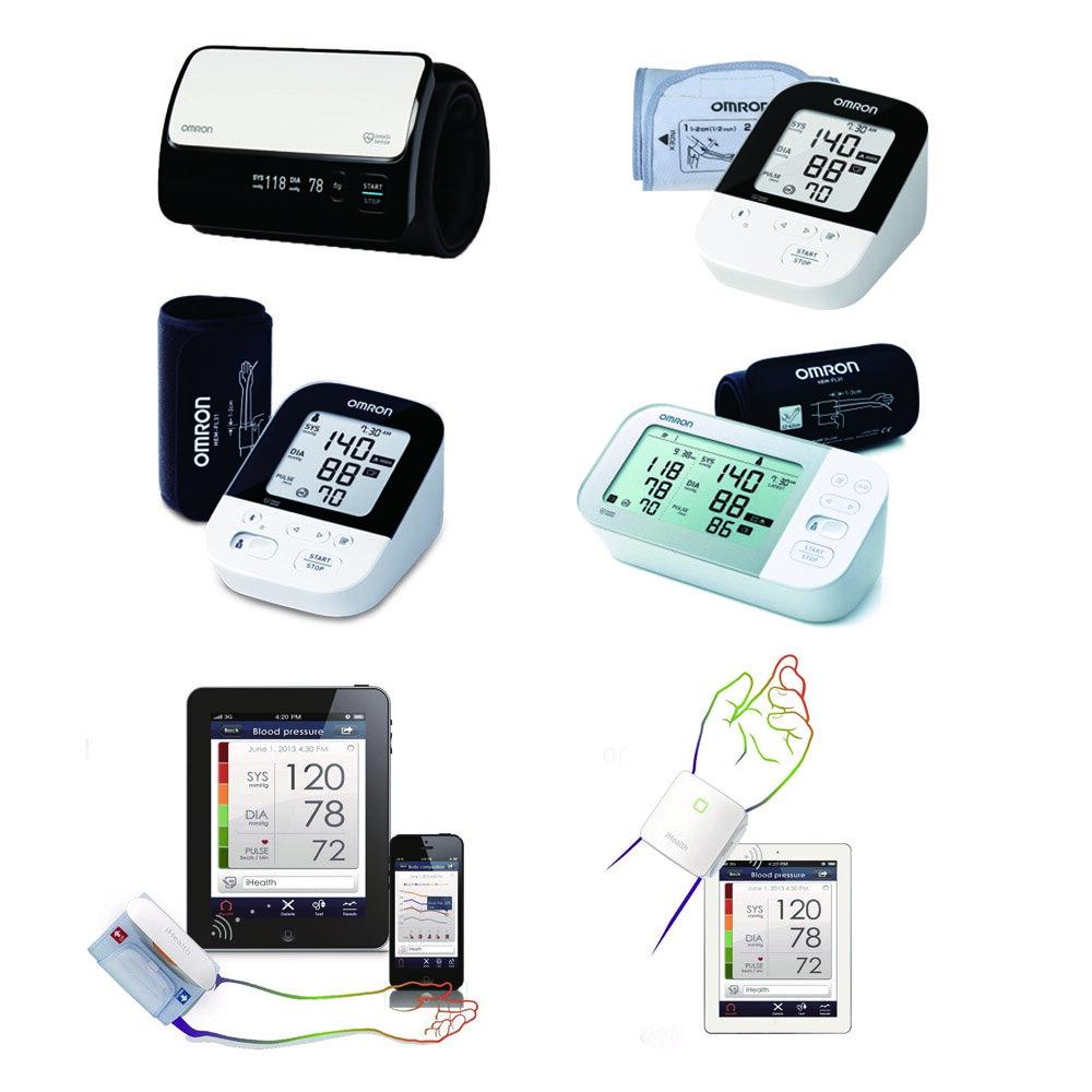 藍芽血壓計HEM-7600T、HEM-7157T、JPN616T、JPN710T、i Health BP5、BP7