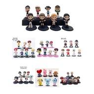 FUNKO POP7pcs/set KPOP BTS Figture Toys Action Figures Cake Decoration Kid Gift Birthday