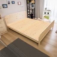 【ABOSS】北歐松木實木排骨架3.5尺單人床架