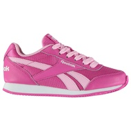 [REEBOK] Girls Classic Jogger RS Kids Trainers Sneakers Shoes Lace Up Textile Ortholite