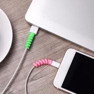 2Pcs Saver Coverสายชาร์จProtectorสายไฟUSB Lightning USBป้องกันสำหรับโทรศัพท์สำหรับApple IPhone 8 X